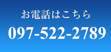 予約電話番号:0697-522-2789